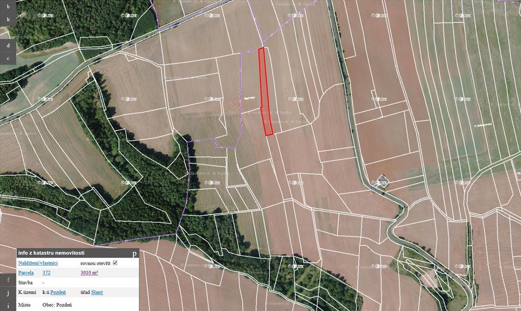 Územní pracoviště pro Prahu 2 oznamuje konání veřejné dražby pozemků