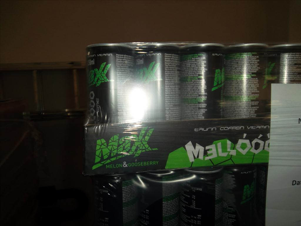 MAXX MELLOOO energy drink - 0,25l plech
