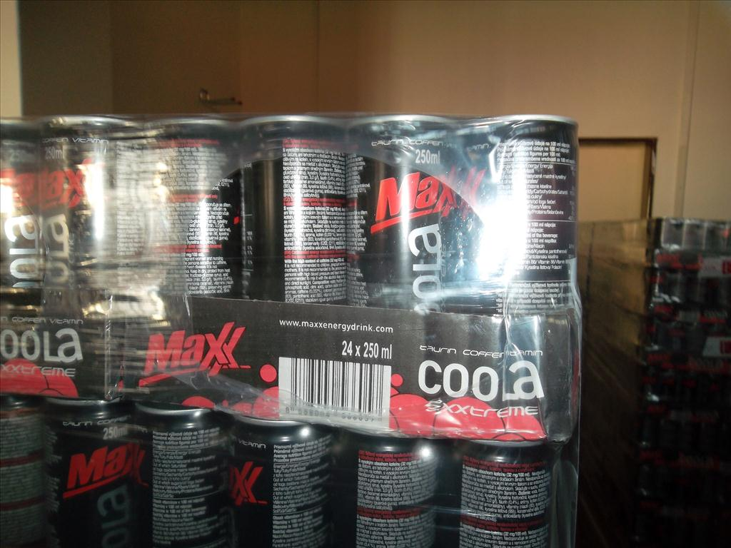 Maxx COOLA energy drink - 0.25l plech