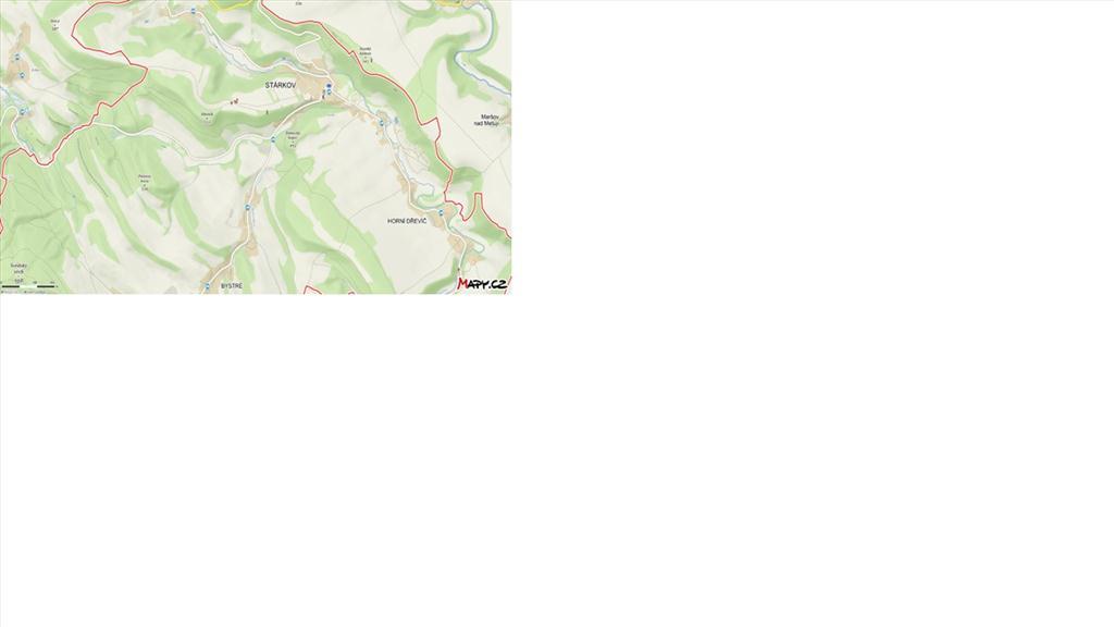 Parcela č. 67  - mapa