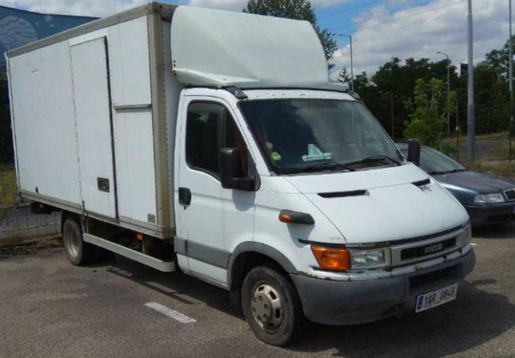Územní pracoviště pro Prahu 10 oznamuje konání veřejné dražby nákladních automobilů