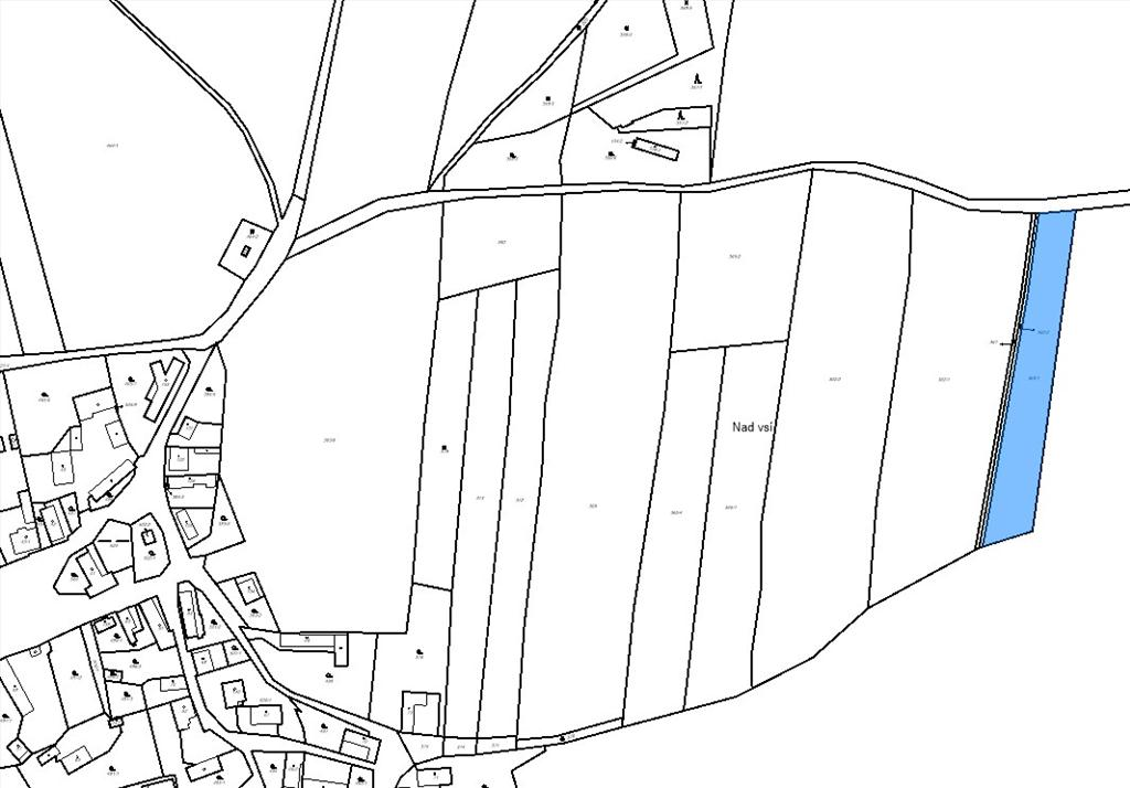 Územní pracoviště vBerouně oznamuje konání veřejné dražby pozemků