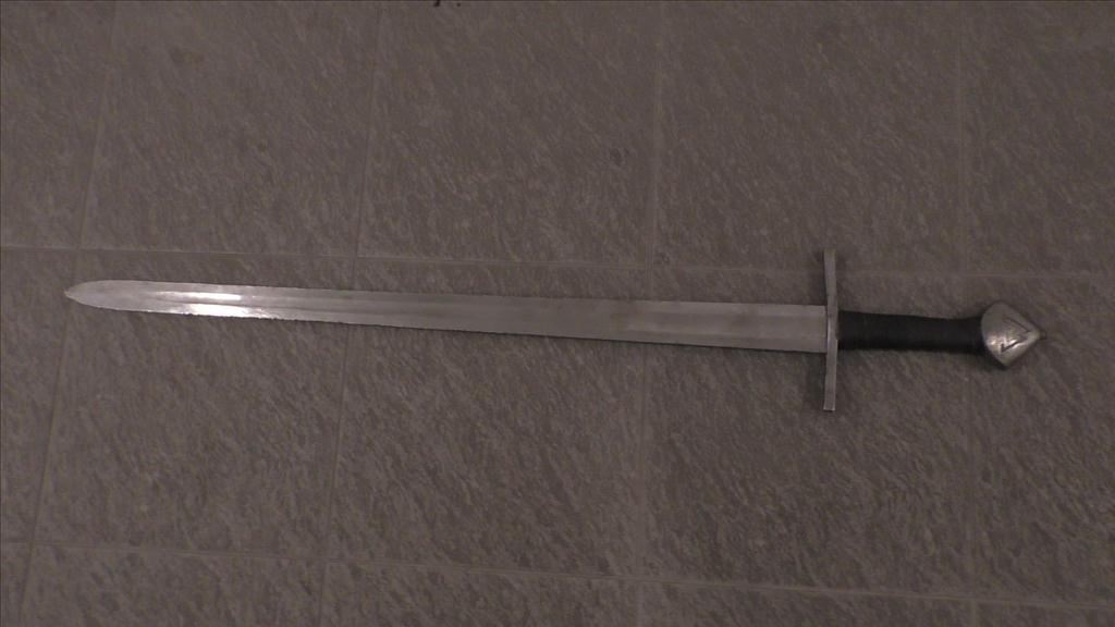 Normanský meč jednoruční