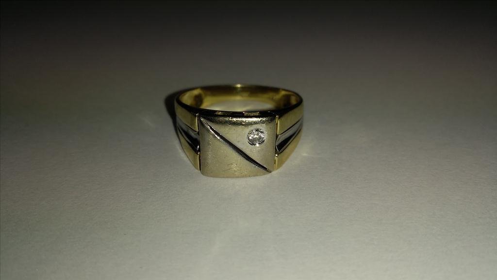 Prsten pánský AU