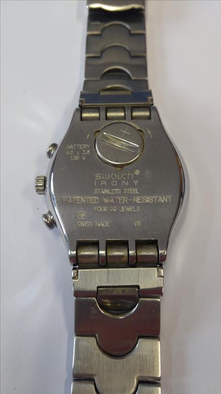 Pánské náramkové hodinky zn. SWATCH SWISS IRONY