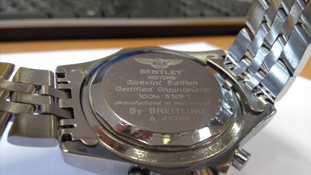 Pánské náramkové hodinky zn. BREITLING FOR BENTLEY