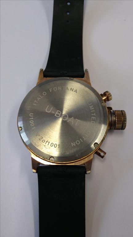 Pánské náramkové hodinky zn. U-BOAT ITALO FONTANA