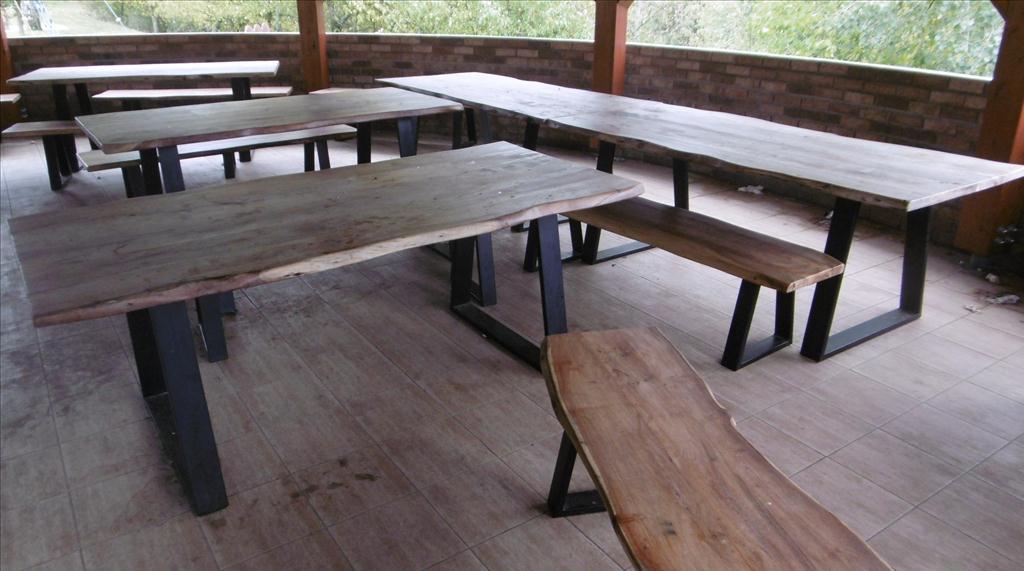Stůl a lavice (masiv) - položky 1 až 10