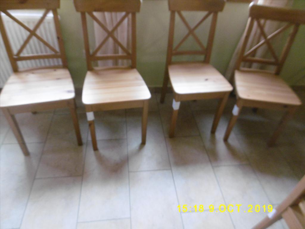 dřevěná židle - položky 24 až 31