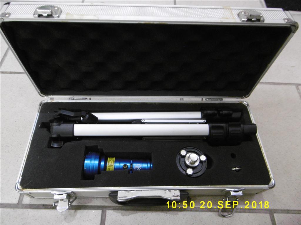 Rotační zaměřovací laser
