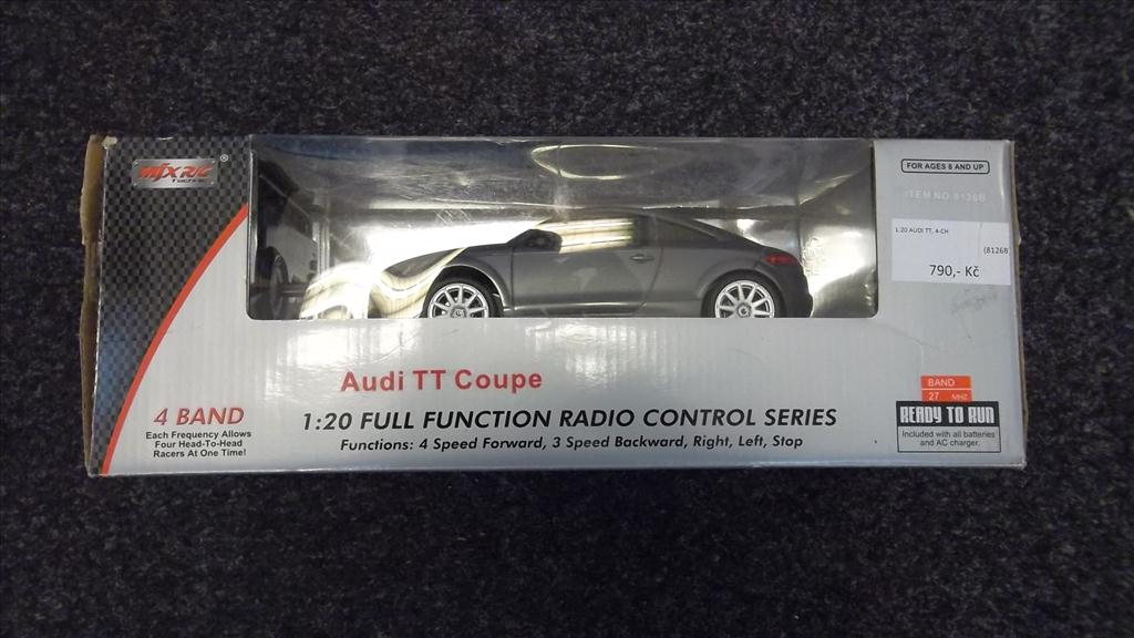 AUDI TT Coupe RTR (RC model auta)