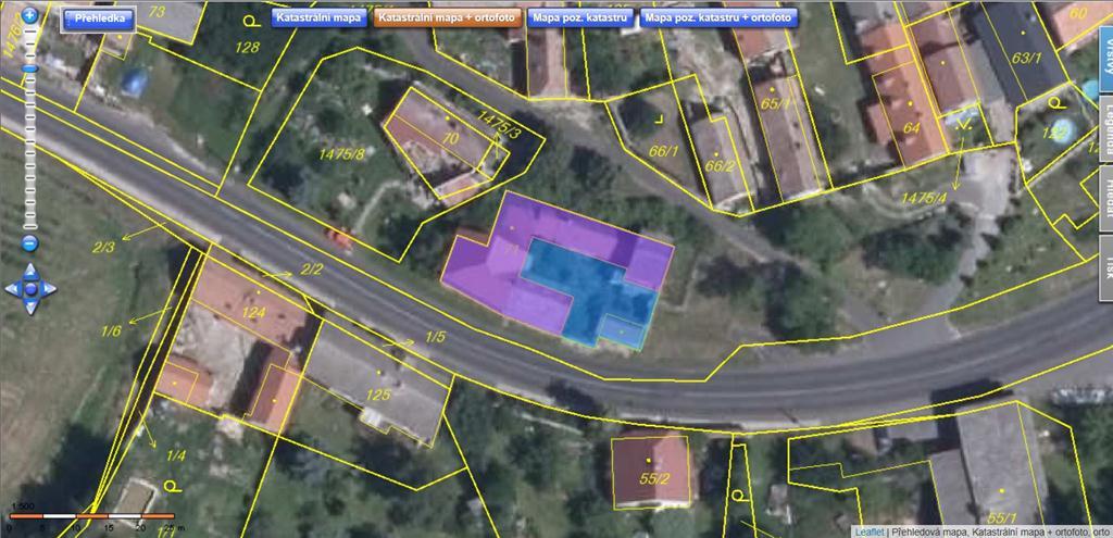 Územní pracoviště v Lounech oznamuje konání veřejné dražby domu/ů