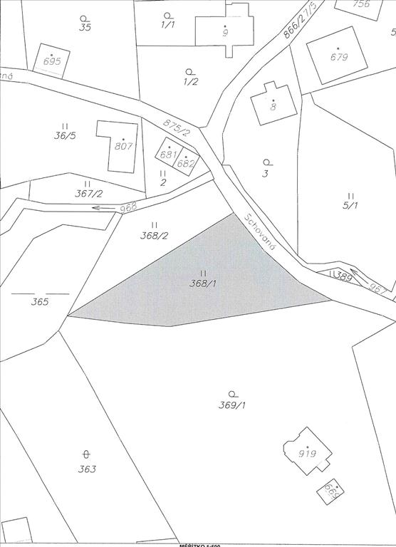 Dražba pozemku Kokonín, Jablonec nad Nisou