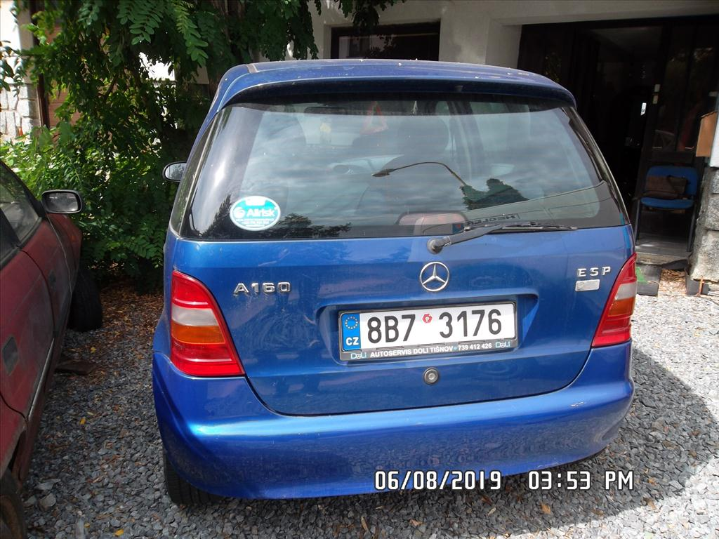 Osobní automobil Mercedes - Benz A 160