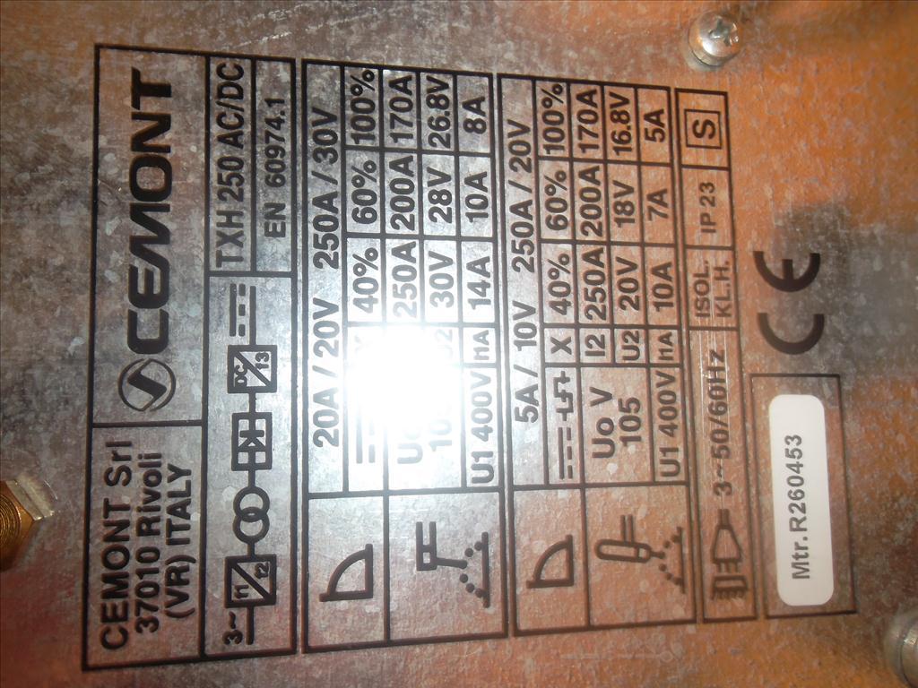 Svářečka Triwave TXH 250 AC/DC Cemont