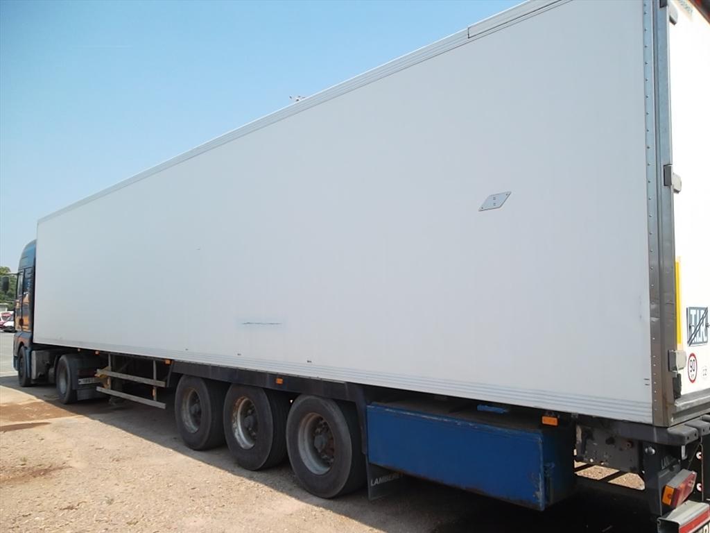 Nákladní návěs speciální - skříň mrazírenská, LAMBERET LVF S3; RZ: BVI 7606