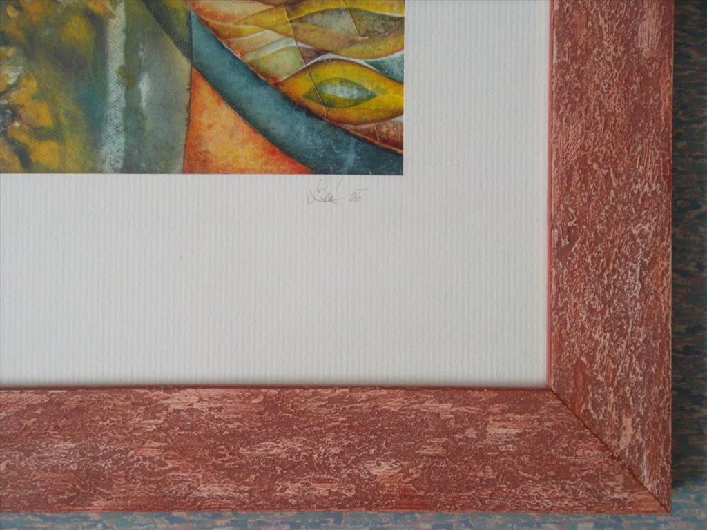 movitá věc (obraz), Lisá; květy slunečnic