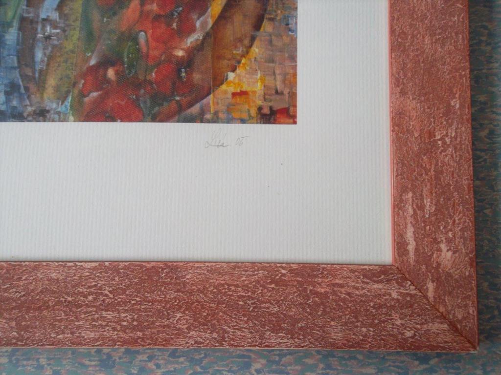 movitá věc (obraz), Lisá; motiv stylizovaných makovic