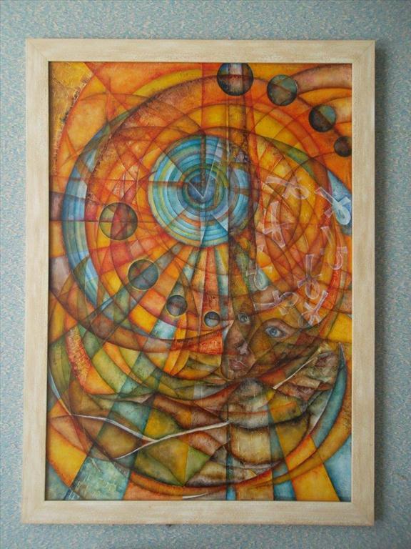 movitá věc (obraz), Lisá; kosmická vize
