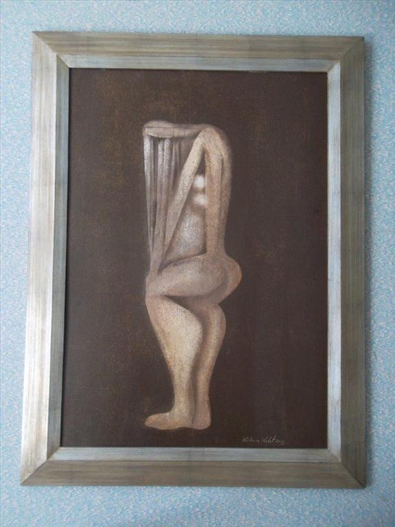 movitá věc (obraz), Kristián Kodet; motiv: figura ženy