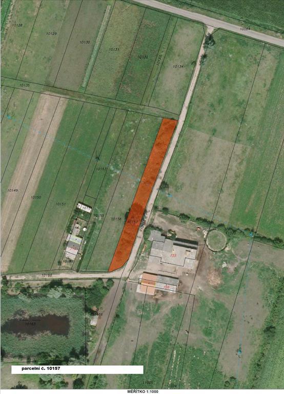 Územní pracoviště ve Znojmě oznamuje konání veřejné dražby pozemků