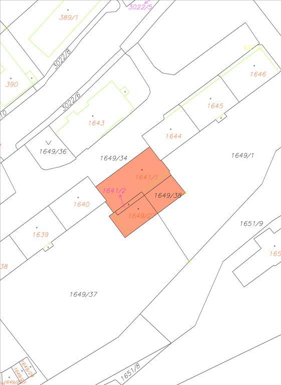 Snímek kat.mapy