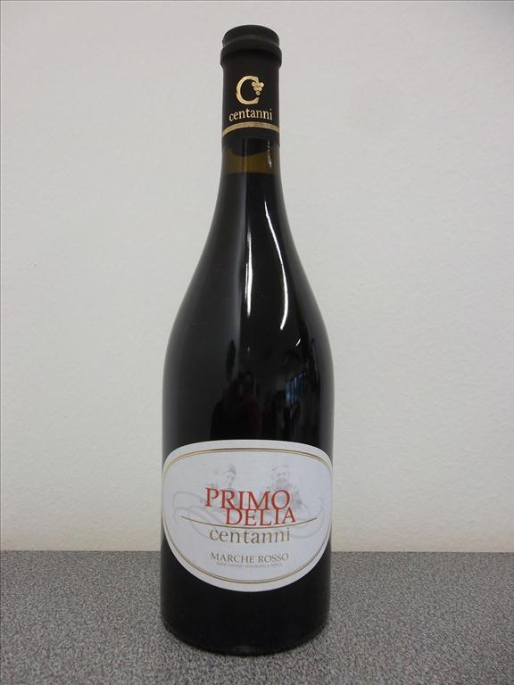 PrimoDelia centanni Marche Rosso, 0,75 litr