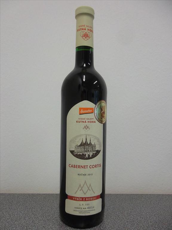 Cabernet Cortis 2015 výběr z bobulí, 0,75 litr