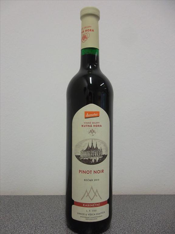 Pinot Noir 2015 – Staré keře, 0,75 litr